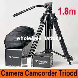 Wholesale 1 M Video Camcoder Camera DSLR Tripod Fluid Pan Head Bowl Professional EI