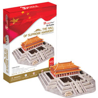 Wholesale candice guo D puzzle toy CubicFun paper model jigsaw game the Hall of Supreme Harmony MC127h pc