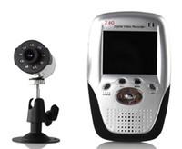 Wholesale Portable wireless baby video monitor Multimedia Wireless Receiver MPEG DVR QQTSM1040