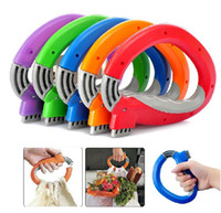 Wholesale 100 New one trip grip bag hanger shopping handle grocery bag holders soft grip handle mixed colors fedex dhl ups