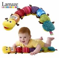 Wholesale Lamaze Musical Inchworm Lamaze musical plush toys Lamaze educational toys Baby Toy