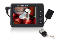Wholesale DHL Free quot LCD All in One Investigation Kit Mini Portable MPEG DVR Hidden Camera AB2961