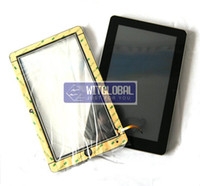 Wholesale 5mm Outer Glass Touch Screen Replacement Screen Film For inch quot Kocaso M1050 MID M1006 Andr