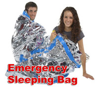 Wholesale Waterproof Emergency Foil Sleeping Bag Outdoor Survival Hiking Camping Travel