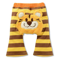 Wholesale baby tigger coral fleece pp warmers boys tights trousers pp pants underpant panties Y202