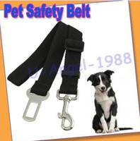 Wholesale Register Adjustable Vehicle Car Seat Safety Safe Belt Seatbelt Pet Cat Dog