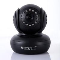 al por mayor las cámaras de seguridad de internet-Envío gratuito de Seguridad de la Cámara IP Inalámbrica de 270 Grados de función P2P, Internet WiFi IR Cam WPA Internet