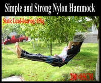 Wholesale Outdoor Furniture Simple Nylon Hammocks cm less than kg for Kids and Women