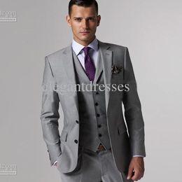 Wholesale - men suit mens complete designer tuxedo Bridegroom (jacket+pant+tie+waistcoat)