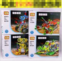 Wholesale The children s educational blocks toys LOZ plastic electric block mechanical robot building blocks