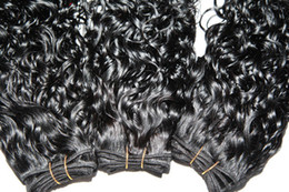 Wholesale DHL free virgin Malaysian hair extension Same size Regular Curly quot quot Natural Black