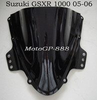 Wholesale Double Bubble Windscreen Windshield for Suzuki GSXR K5 Fairing