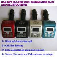 FM Transmitter   Bluetooth Car MP3 Player Car MP3 FM Transmitter with bluetooth & MP3 wireless FM modulator