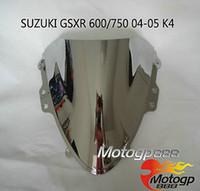 Wholesale Double Bubble Windscreen Windshield for Suzuki GSXR K4 C GP