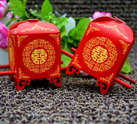 Wholesale Cheap bridal sedan chair wedding candy boxes favours decorations party supply gift boxes
