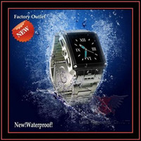 Wholesale Waterproof Mobile Phones W818 Warterproof Watch Phone Sport Diving Russian Black amp Silver In Stock