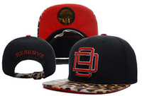 Red Man Cotton Snapback Hats Cheap Adjustable Hats Various Color D9 Reserve Leopard Strapback Hot Sale High Quality