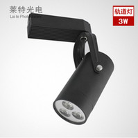 Wholesale 100pcs top choice LED track lights small spotlights wall lights W LM V WARM WHITE