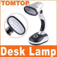 Wholesale Battery Powered Cordless Mini LED Emergency Desk Lamp Angle Adjustable table lamp light H4209