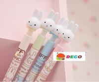 Wholesale Cute rabbit ball pen Ball point pen MM refill Pens of cartoons Good quality SS