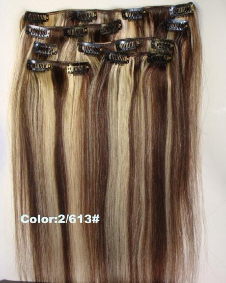 Clip In Highlight Hair Extensions 41