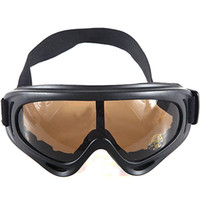Wholesale Military UV Desert Cavalry Style Goggles Eyeglasses Glasses Eyewear with Anti glare Smoke Lens H
