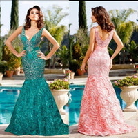 Model Pictures beaded works - 2016 New Arrival V neck Sexy Much Work Taffeta Pageant Evening Dresses ZD020