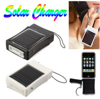 Wholesale Lighter Shape External Solar Power Battery Charger for iPhone4 S G GS iPod