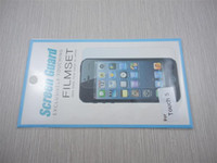 Wholesale high clear matte screen guard for ipod touch with retail package