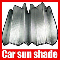 Wholesale 100pcs Alibaba express Solar Protection Sunshine Heat Reflective Sun Visor Windshield Cover Auto