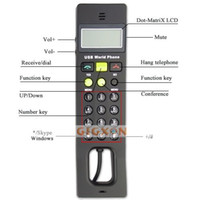 Wholesale USB VoIP Internet Phone with LCD Screen for Laptop PC