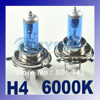 auto halogen bulbs - 2 x H4 Xenon Halogen Auto Car HeadLight Bulb Kit K V W