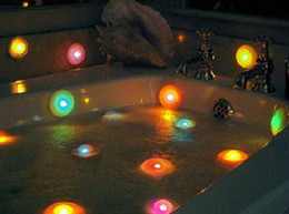 online shopping 10pcs led color light bathtub light with sucker color changing spa light retail bathtub lighting