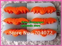 Livraison gratuite -2012 nouveau Halloween bat silicone cake pan gelée moule chocolat forme savon moule pudding