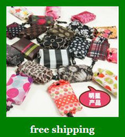 Folding nylon foldable shopping bag - Hot Nylon Foldable Shopping Bags Reusable shopping bag Eco Friendly Tote Bags gifts