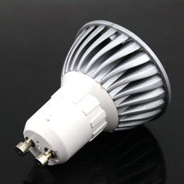 1W GU10, high power LED lamp, warm white LED bulb Spotlight