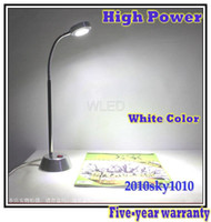Wholesale New Desing High Power LED tube desk lamp with on off switch reading lighting W table lamps