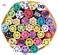 fimo canes - Pieces Cute D Nail Art FIMO Canes Rods Decoration Nail Art Stickers