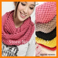 Wholesale Warmer Scarf Fashion Candy Color Style Neck Warmer