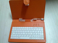Wholesale Cheapest inch Keyboard Leather Case Cover Keyboard Flip MINI USB Tablet PC ePad
