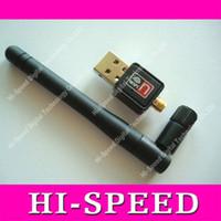 al por mayor f5 networks-Tarjeta de red inalámbrica mini del 150M del USB WiFi 802.11 n / g / b antena adaptador LAN para 3601 Skybox F3 F4 F5