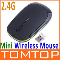 Wholesale Mini GHz G USB Wireless Optical Mouse For PC Laptop DPI Adjustable Black C1128B