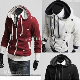 Wholesale 2012 New Style Men s Hoodies Men s Casual Cardigan thickening Hoodies amp Sweatshirts Outwear