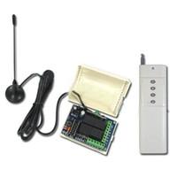 2000M 4 canales 315 / 433MHz DC 9V / 12V / 24V conmutador remoto inalámbrico - Transmisor Receptor-4 Control
