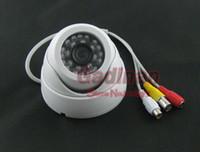 ccd dome camera - 1 quot Sharp CCD Line Color CCTV Infrared Night Vision Mini Dome Surveillance Camera w Microphone