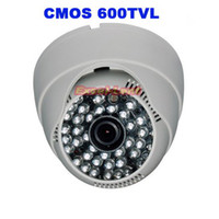 CCD Guangdong China (Mainland) Infrared High Resolution 600tvl CMOS Security 48 LEDs 6MM lens CCTV Camera free shipping
