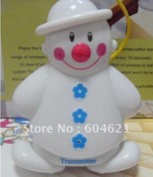 Wholesale Lovely Snowman Wireless Baby Cry Detector Monitor Watcher Alarm