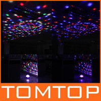 Wholesale Digital LED RGB Crystal Magic Ball Effect stage Light DMX Disco DJ Stage Lighting show H9198