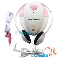 Wholesale Angelsounds Doppler Fetal Heart Beat Monitor Listener with Recording cable and Freeshippin
