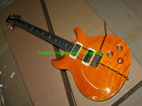 Solid Body beauty hands cheap - Custom Shop th Santana Yellow Beauty Electric Guitar From China High Quality Cheap